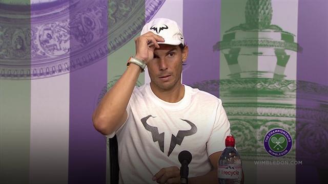 """Nadal: """"Federer ha meritato di vincere, sono onorato di essere parte di questa rivalità"""""""