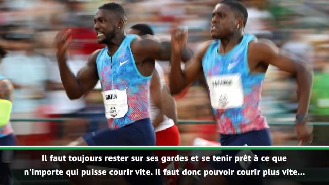 Athlétisme - Gatlin évoque le 100 mètres depuis la retraite de Bolt
