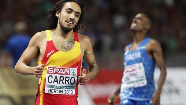 Fernando Carro establece nuevo récord de España en el 3.000 obstáculos