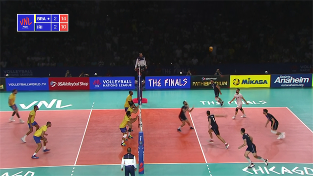Volleyball Nations League: Brasile-Iran 3-2, gli highlights