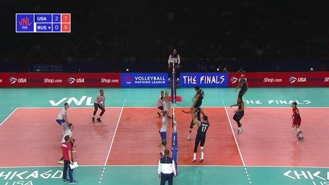 Volleyball Natios League: USA-Russia 3-0, gli highlights