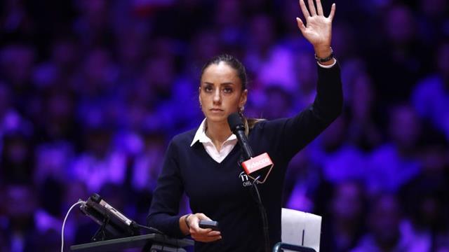 La serbia Marijana Veljovic, jueza de silla de la final Serena-Halep