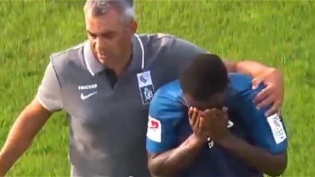 Английский защитник «Бохума» подвергся расизму в товарищеском матче и покинул поле в слезах