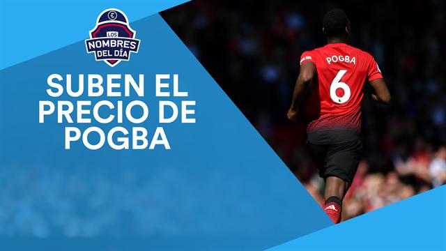 Pogba, Neymar, Arda Turan, Nacho y Borja Iglesias, los nombres del día