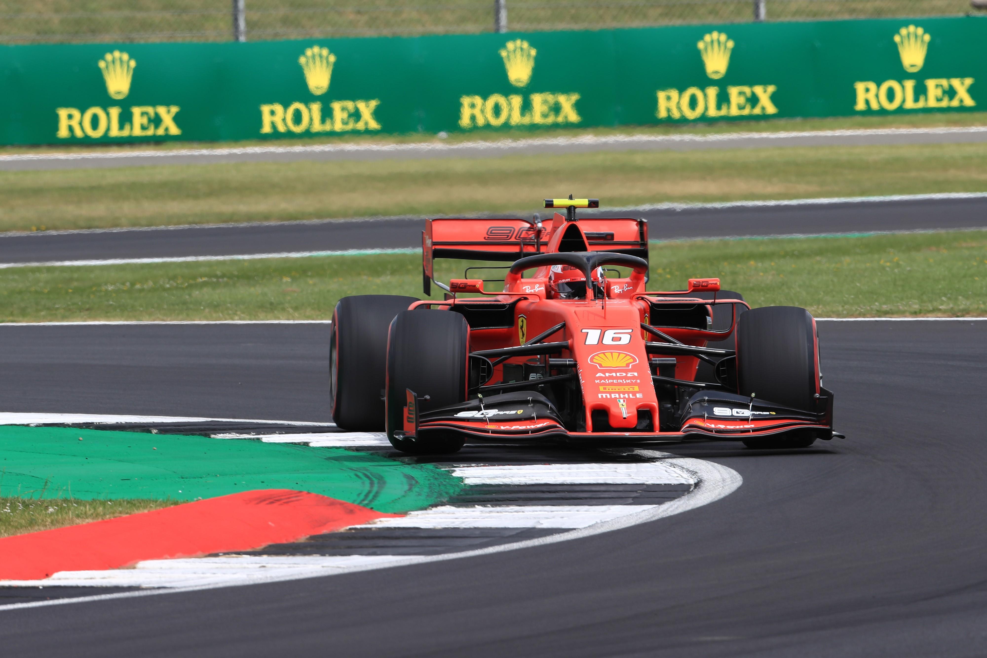 Charles Leclerc (Ferrari) au Grand Prix de Grande Bretagne 2019