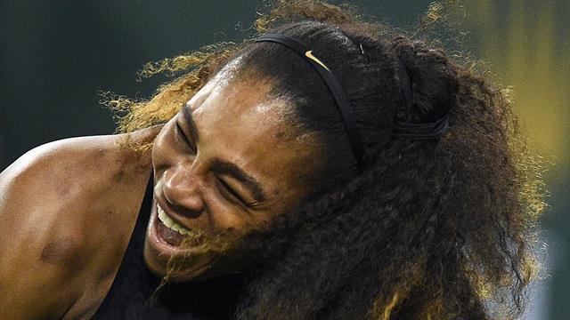12% des hommes britanniques pensent qu'ils peuvent gagner un point contre Serena