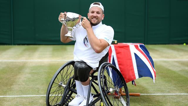 L'impresa di Dylan Alcott: vince Wimbledon e completa il Grande Slam in carrozzina