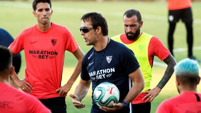 El Sevilla regresa del Algarve y los internacionales se incorporan al trabajo