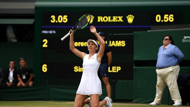 Wimbledon-vinneren får stjerner i øynene når hun får høre hvem hun skal møte
