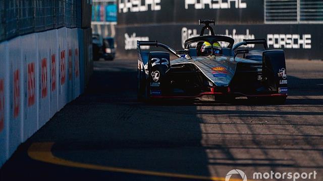 New York E-Prix: Rowland fastest in Saturday practice