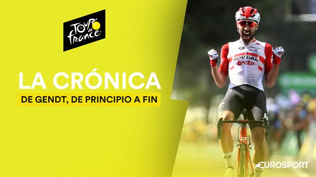 Tour de Francia 2019 (8ª etapa): Monográfico de De Gendt y Alaphilippe vuelve a vestir de amarillo