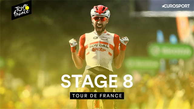 Highlights as De Gendt and Alaphilippe light up superb Stage 8
