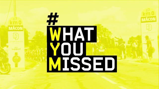 What you missed, 8a tappa: frecce tricolore, De Gendt, De Marchi e Alaphilippe in giallo