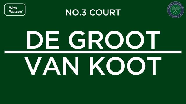 Aniek van Koot wint Wimbledon 2019 na overwinning op Diede de Groot