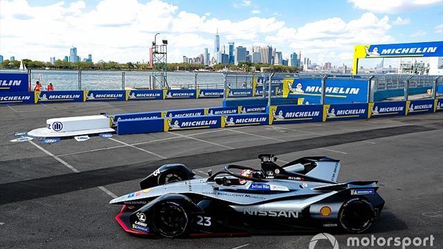 Buemi arrasa y se lleva la pole para la primera carrera de Nueva York