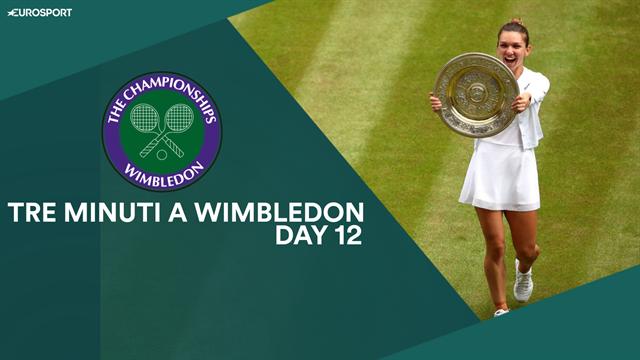 Dalla strepitosa partita di Simona Halep al record tabu di Serena: tre minuti a Wimbledon, Day 12