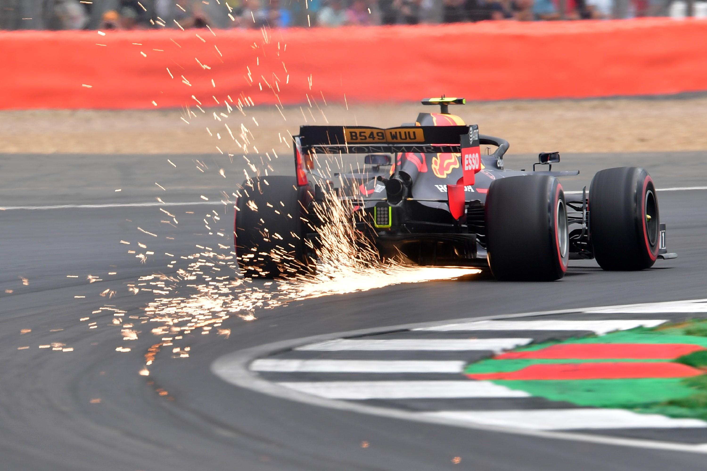 Max Verstappen (Red Bull) au Grand Prix de Grande Bretagne 2019