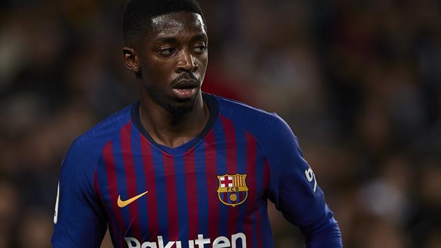 Coup dur pour le Barça, Dembélé absent cinq semaines