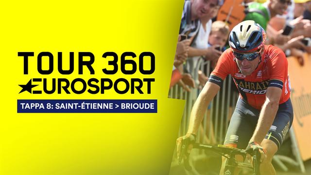 """""""Tour 360"""", tappa 8: I francesi provano ad anticipare ma questa volta vince De Gendt. E Nibali?"""
