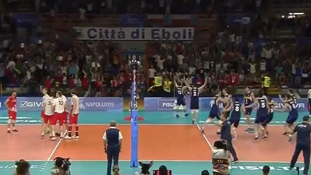 Italia d'oro nel volley maschile dopo 49 anni! Battuta la Polonia, rivivi il match point