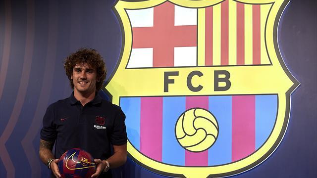Pas de 7 ! Le Barça a dévoilé le numéro de maillot de Griezmann