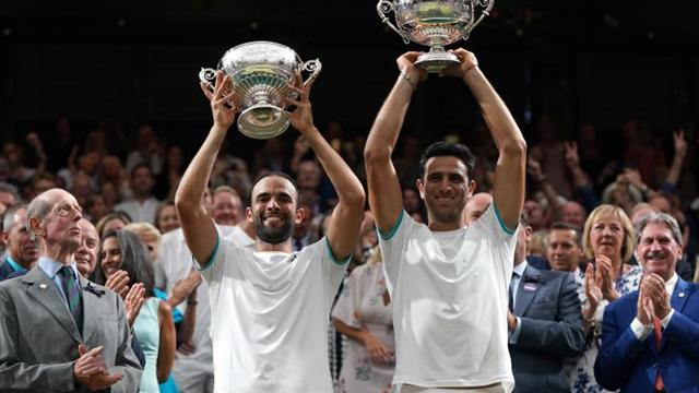 """Farah y Cabal, perplejos por la gloria en Wimbledon: """"Es una locura"""""""