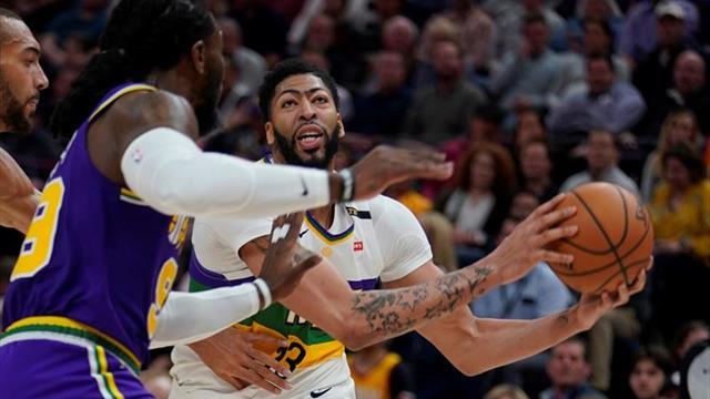Davis se presenta sin el No.23, con James y convencido de que los Lakers ganarán