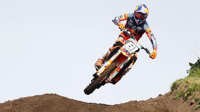 Motocross, MX2 GP Asia: Intratable doblete de Jorge Prado, que acaricia el Mundial