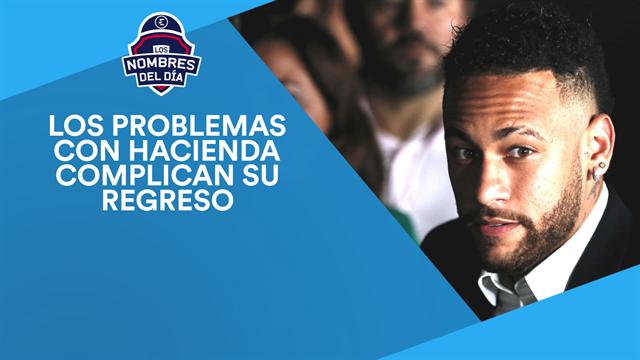 Neymar, James, el dorsal de Hazard, Oliver Torres y Dembélé, los nombres del día