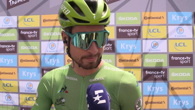 Peter Sagan tips the breakaway for Stage 9 glory