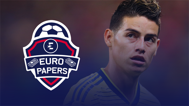 Euro Papers: James Rodriguez ditches Napoli for Real Madrid rival