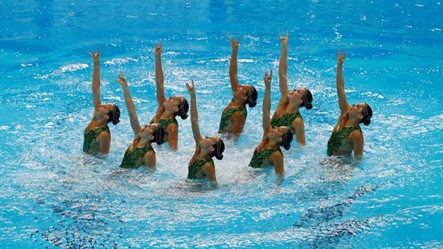 Las nadadoras españolas pasan a la final de equipo técnico en el Mundial de Gwangju
