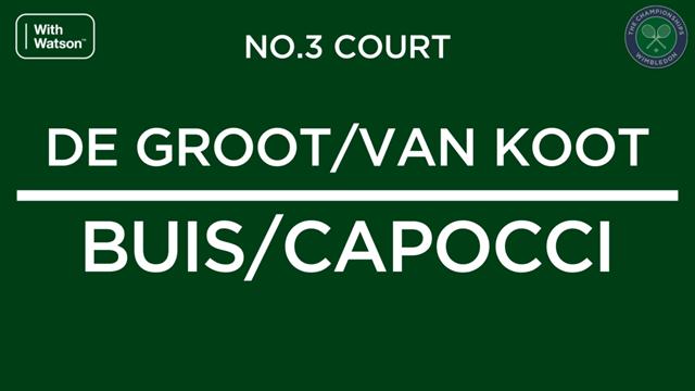 De Groot en van Koot pakken dubbeltitel Wimbledon