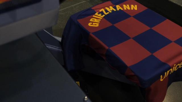Liga: Barça - Les supporters s'arrachent déjà le nouveau maillot de Griezmann