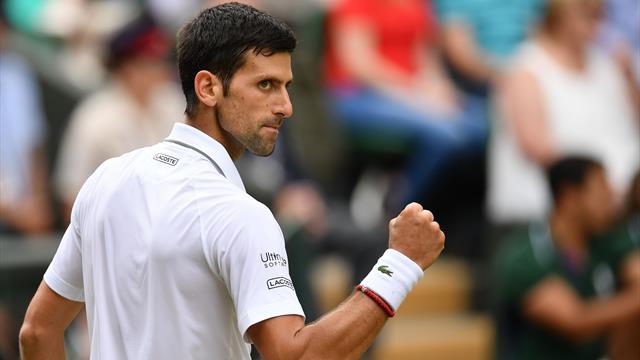 Djokovic desempata el partido y vuelve a llevarse un set en el Tie Break (7-6 -3-)
