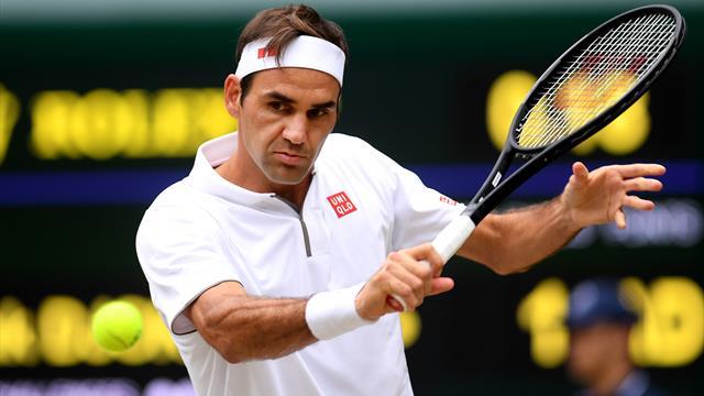 🎾🇨🇭 Federer vuelve a imponerse en el cuarto set y empata la final de Wimbledon (4-6)