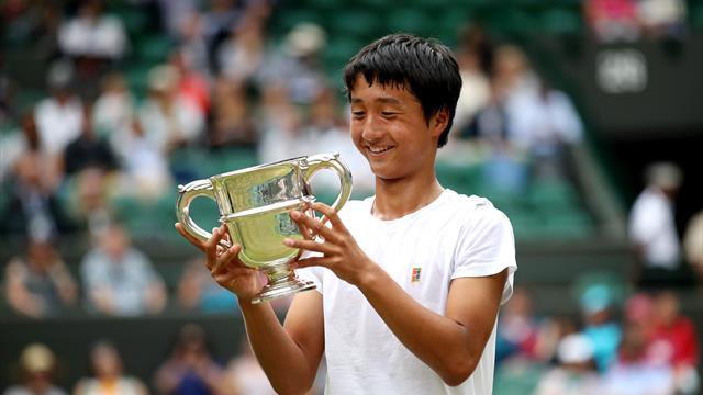 Мочизуки стал первым японцем в истории, взявшим юниорский Уимблдон