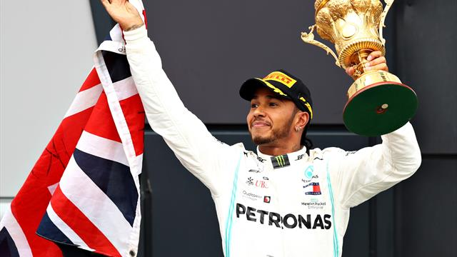 Hamilton wins sixth British Grand Prix after safety car costs Bottas