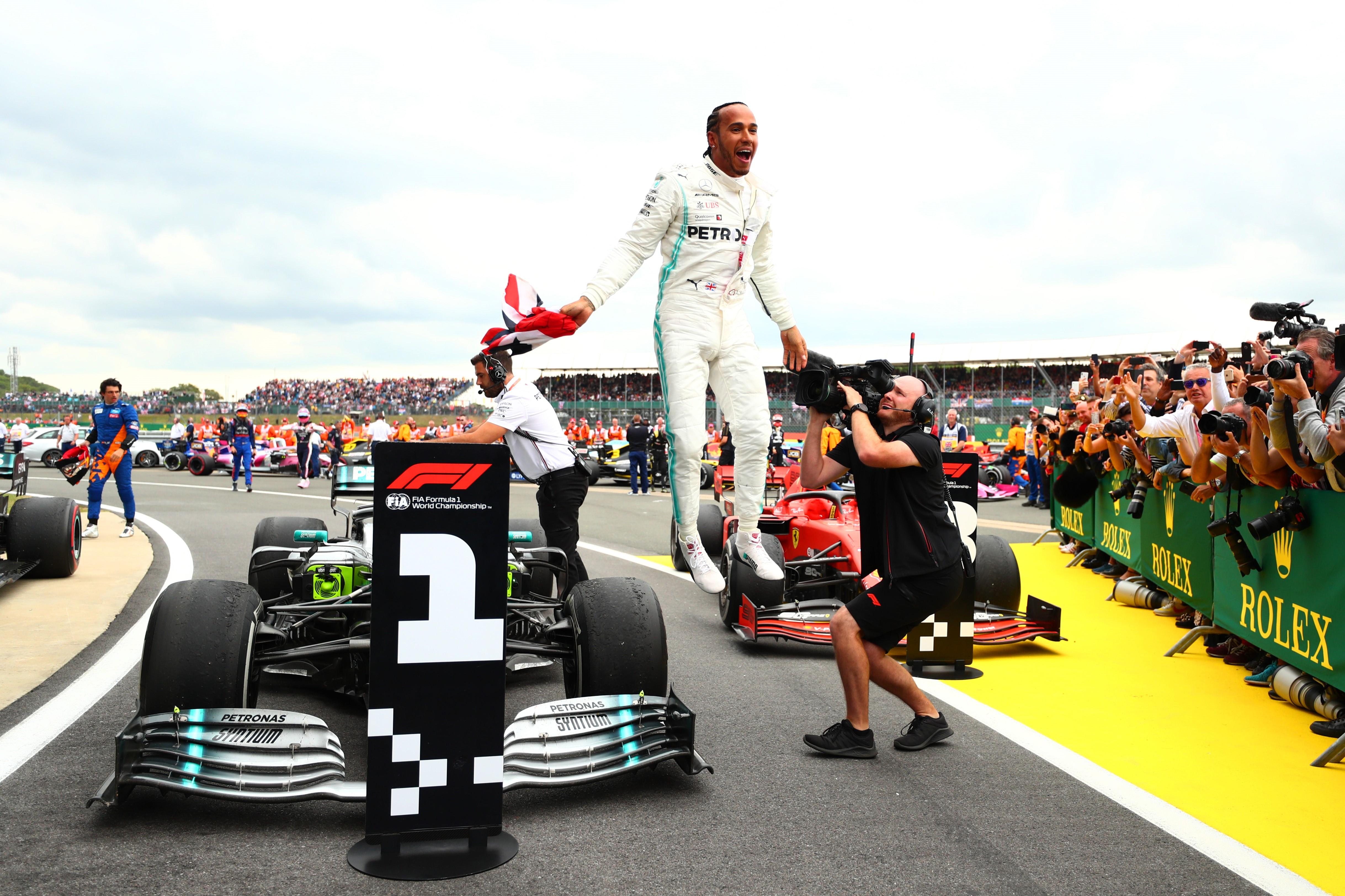 Lewis Hamilton (Mercedes) au Grand Prix de Grande Bretagne 2019