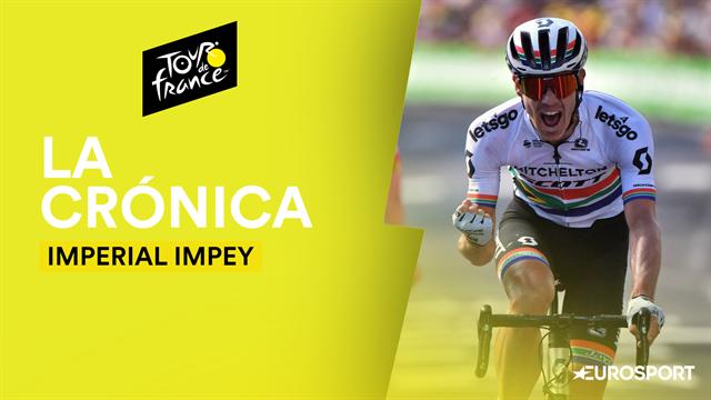 Tour de Francia 2019 (9ª Etapa): Impey consigue una imperial victoria en una escapada muy española
