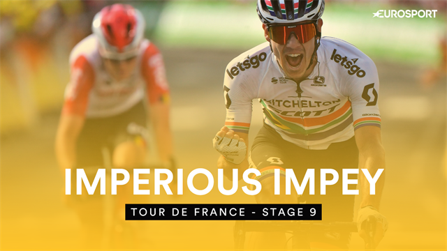Watch Impey's first ever Tour de France stage win