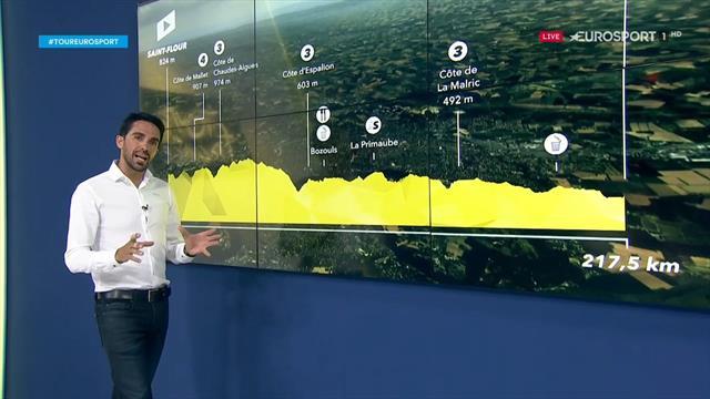 La predicción de Contador (10ª etapa): Etapa larga y quebrada antes del descanso