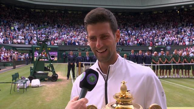 Se intervjuet med Wimbledon-vinneren