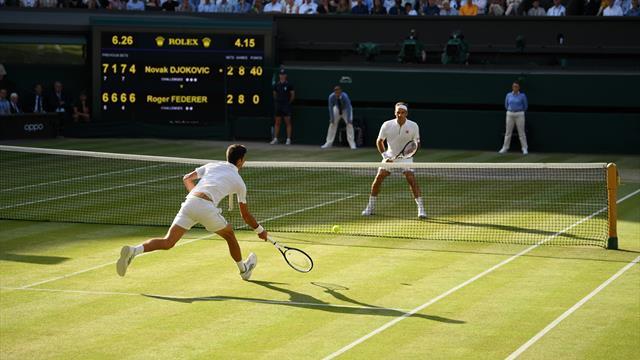 Toppsiffror för Wimbledon-finalen