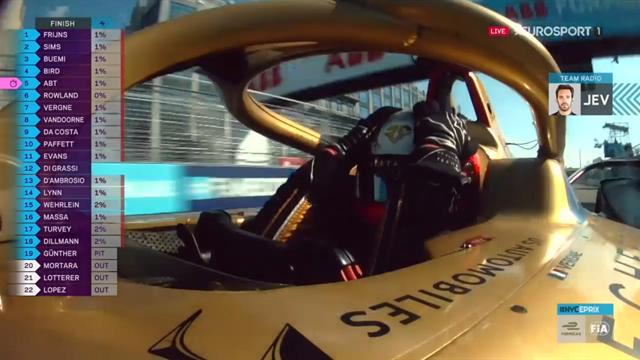 Fórmula E, ePrix Nueva York: Vergne se proclama campeón por segunda vez en su carrera