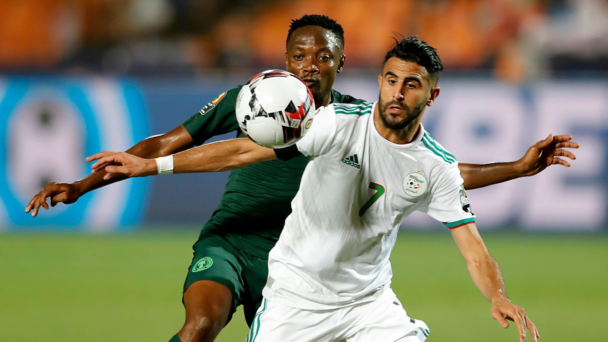 Afrika Cup 2019 Algerien Gewinnt Halbfinale Gegen Nigeria
