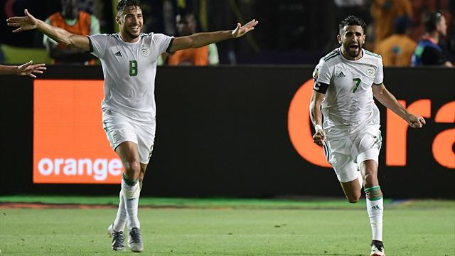 Majestic Mahrez sends Algeria into AFCON final with stunning free-kick in stoppage time