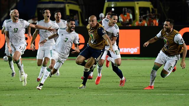 Mahrez envoie l'Algérie en finale