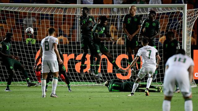 Le coup franc sublime de Mahrez qui a délivré l'Algérie à la 95e minute