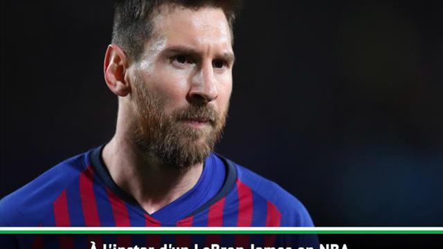 """Barça - Griezmann : """"Messi, c'est comme LeBron James en NBA"""""""